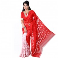 Pohela Boishakh Special Muslin Silk Jamdani Saree SSM102