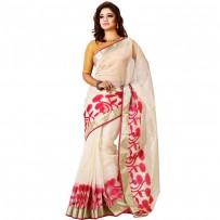 Pohela Boishakh Special Half Silk Saree SSM113
