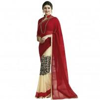 Pohela Boishakh Dupion Silk Saree VF106