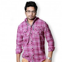 SIMPLE OUTFITS Premium Flannel Hooded Shirts SH274