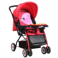 BAOBAOHAO 709N Baby Stroller With Music BBH112 : RED