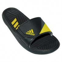 Stylish Adidas Slipper EP204 Black With Yellow