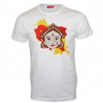 Exclusive Puja Collection Round Neck T - Shirt : SW3015