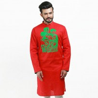 Bijoy Dibosh Special Men Cotton Punjabi  SW396