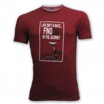 Life Isn't Race - Round Neck T Shirt