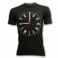 Sorry. I'm Late - Round Neck T Shirt