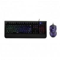 Rapoo V110 Backlit Gaming Keyboard and Optical Gaming Mouse Combo Black