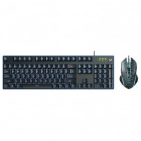 Rapoo V100S Backlit Gaming Keyboard & Optical Gaming Mouse Combo