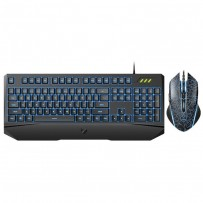 Rapoo V120S Backlit Gaming Keyboard & Optical Gaming Mouse Combo