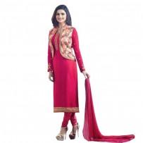 Exclusive Eid Special Prachi Desai Jacket Suit Deep Pink WF030