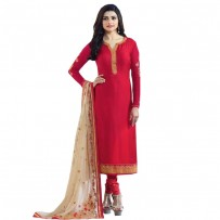 Exclusive Eid Special Prachi Desai Suit with Heavy Embroidery Work Dupatta WF033