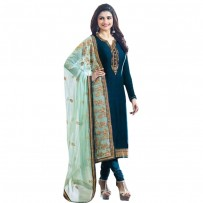 Exclusive Eid Special Prachi Desai Suit with Heavy Embroidery Work Dupatta WF034