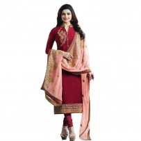 Exclusive Eid Special Prachi Desai Suit with Heavy Embroidery Work Dupatta WF035