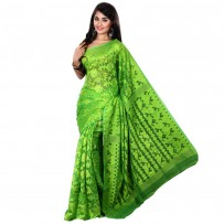 Eid Exclusive Muslin Silk Jamdani Saree TS4856