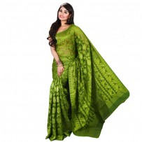 Eid Exclusive Muslin Silk Jamdani Saree TS4857