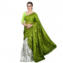Eid Exclusive Muslin Silk Jamdani Saree TS4859