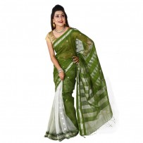 Eid Exclusive Muslin Silk Jamdani Saree TS4894