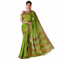 Eid Exclusive Silk Jamdani Saree TS4969