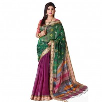 Eid Exclusive Silk Jamdani Saree TS4970