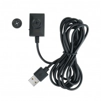 USB Cable Mini Wired  Button Spy Hidden Camera Video recording