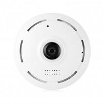 Panoramic Night Vision Wi-Fi IP 360 Degree CC Camera White