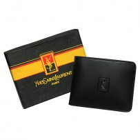 YSL(Yvs Saint Laurent) Wallet Black 1951