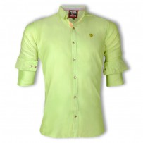 ZINC Premium Slim Solid Oxford Cotton Casual Shirts  ZINC127