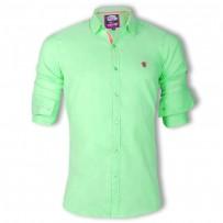 ZINC Premium Slim Solid Oxford Cotton Casual Shirts  ZINC129