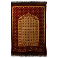 iPEK Janamaz :  Plush Velvet Muslim  Prayer Rug From Turkey RS193