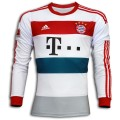 Bayern Munich Away Shirt For 2014 - 2015 White