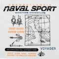 Naval Sport Round Neck T-Shirt JP14 White