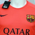Nike FC Barcelona Away Shirt 2014 2015 Orange
