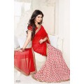 Fabulous Vinay Saree DO20 Red - Pink