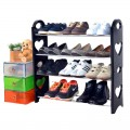 New Stackable 4-Tier Expandable Shoe Rack