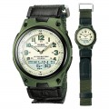 CASIO Analog Digital Telememo Illuminator Men's Watch AW 80V 3BVDF
