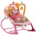 Fisher Price Pink Bunny Infant to Toddler Rocker MCH020