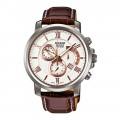 Casio Men's BEM-507L-7AV Beside Chronograph Watch