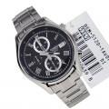 CASIO Beside Men Black Stainless Steel Watch BEM 512D 1AVDF