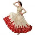 Bridal Georgette Anarkali Suit With Stone Work WF065