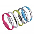 Bracelet Wrist band USB Charger Data Sync Cable