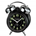 CASIO Bedside Bell Snooze Black Alarm Clock TQ 362 1A