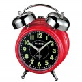 CASIO Bedside Bell Snooze Red Alarm Clock TQ 362 4A