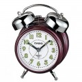CASIO Bedside Bell Snooze Darkmagenta Alarm Clock TQ 362 4BDF