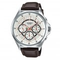 Casio Genuine Leather Belt Watch For Men MTP E303L 7AVDF