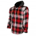 Devil Light Flannel Hooded Shirt DE722