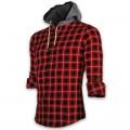 Devil Light Hooded Shirt DE742