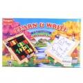 Funskool Learn & Write 2 in 1 Magnetic & Writing Board Multi Color MCH068