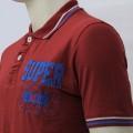 Super Dry Polo Shirt MH27P Maroon