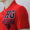 Abercrombie & Fitch Polo Shirt MH26P Red