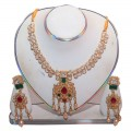 Exclusive EiD Necklece set Collection RA024A. MODEL Necklace Set.